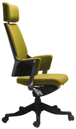DELPHI HIGH BACK GAS LIFT CHAIR