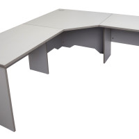 RAPID WORKER CORNER WORKSTATION GREY (2)
