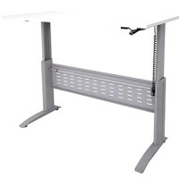 Rapid Span Electric Straight Desk(Raised to Full Height)