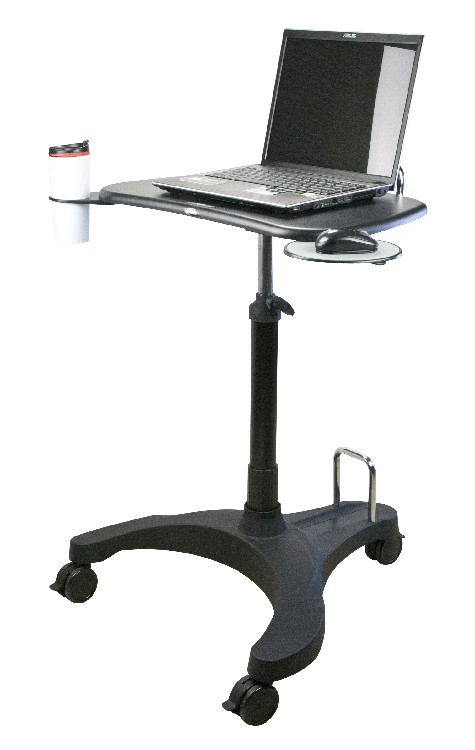 Upanatom sit stand mobile laptop desk paramount business for Mobile computer ikea